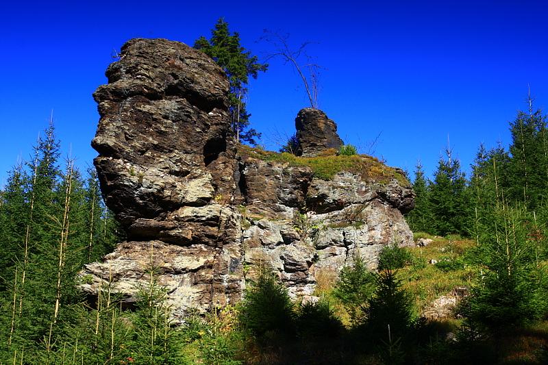 Holubí skály, Krušné hory (autor: Z. Kučera)