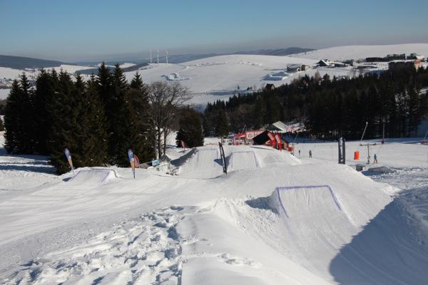 snowpark klínovec krušné hory