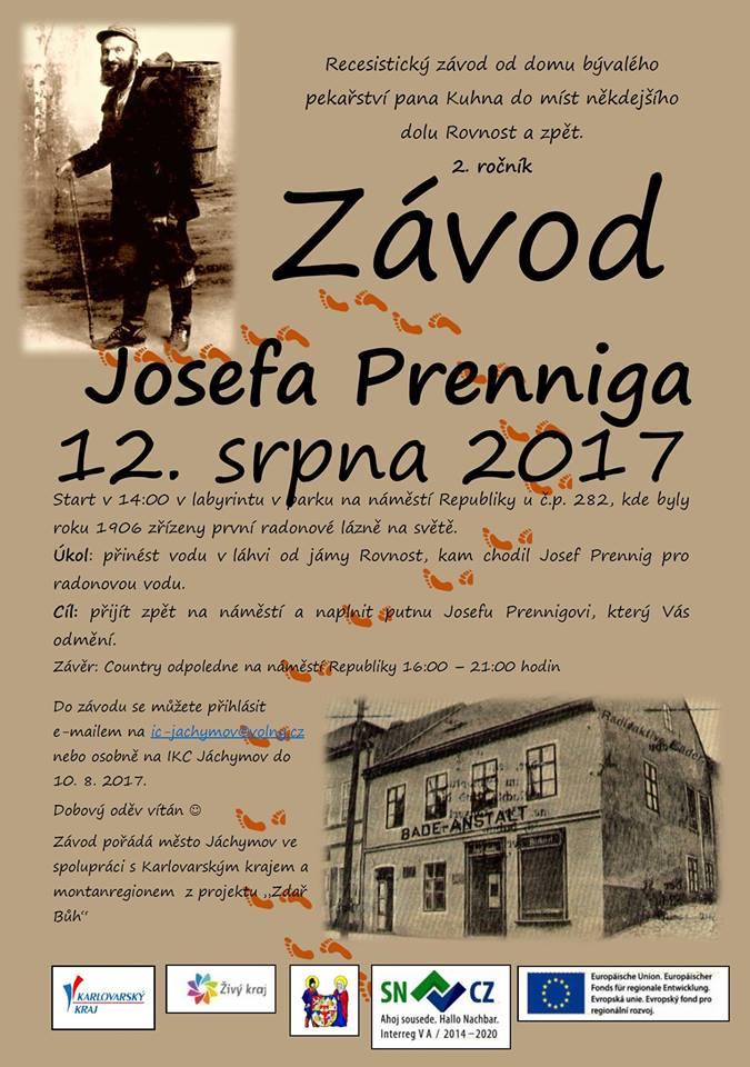 Závod Josefa Prenniga 2017 jachymov