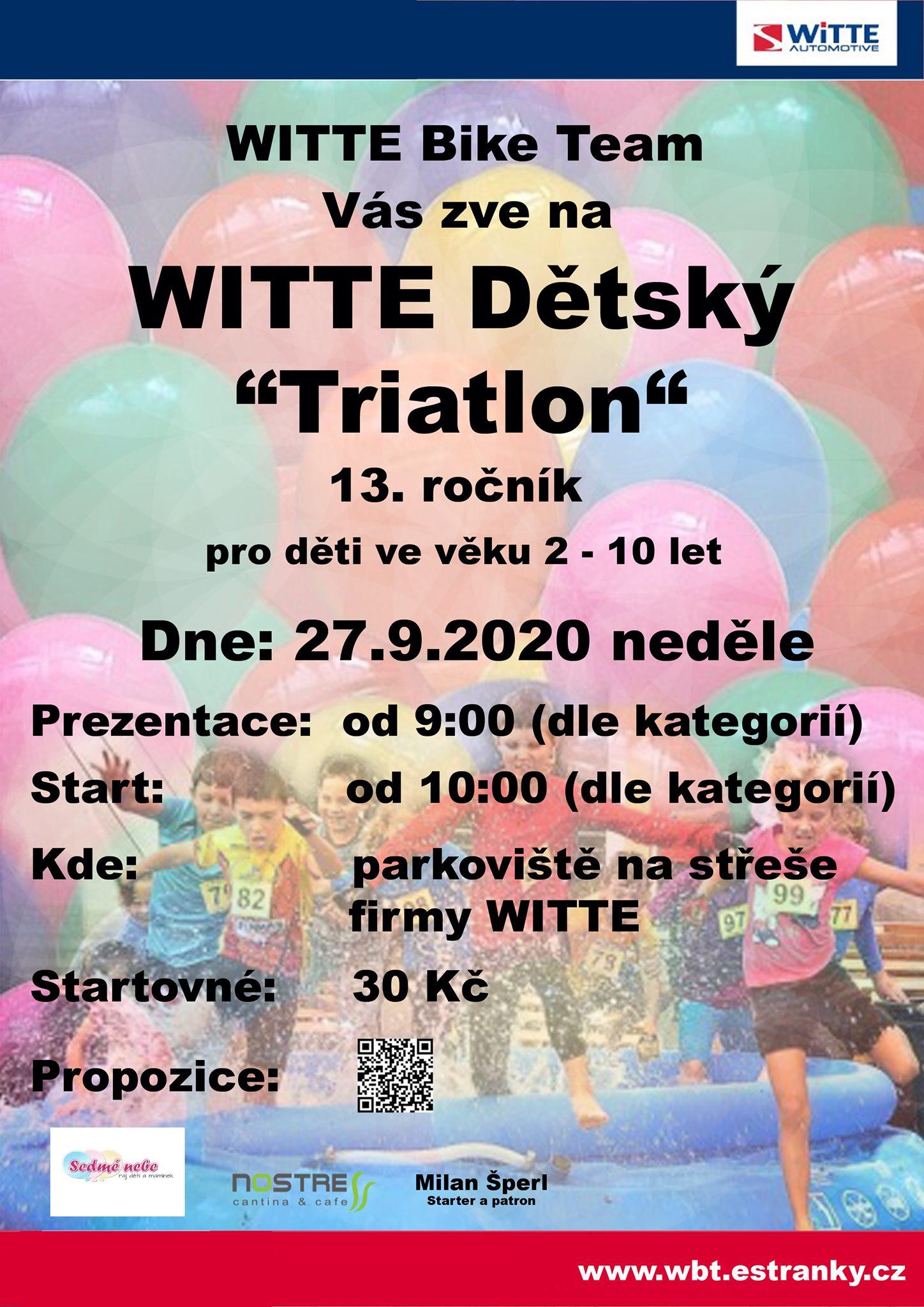 witte detsky triatlon 2020 nejdek