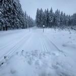 Trasa Bludná - Blatenský vrch 13.1.2021